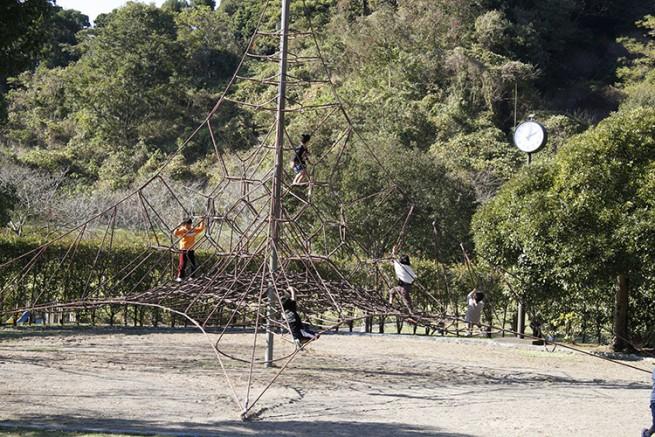 ロープのジャングルジム